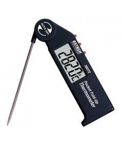 เครื่องวัดอุณหภูมิ ในอาหาร ของเหลว เนื้อสัตว์ ผลไม้ Pocket Fold up Thermometer รุ่น 39272