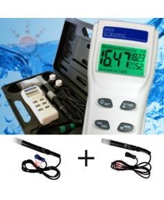 เครื่องวัดคุณภาพน้ำ DO, pH, Conducitivity, Salinity Meter Kit รุ่น 850048