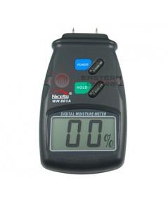 เครื่องวัดความชื้นไม้ Moisture Meter รุ่น WM801A
