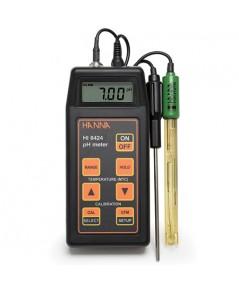 เครื่องวัดพีเอช pH meter / ORP / Temp รุ่น Hanna HI8424