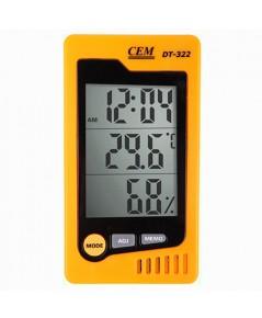 เครื่องวัดอุณหภูมิ ความชื้น Humidity Temperature Meter รุ่น DT-322
