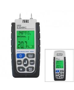 เครื่องวัดความชื้นไม้ Moisture, RH, Dew Point, Wet Bulb, Ambient Temp รุ่น 850001 ***โปรโมชั่น