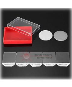 ชุดสอบเทียบเครื่องวัดความหนาสี Coating Thickness Calibration Standard