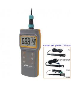 เครื่องวัด pH EC TDS Salinity DO Meter และอุณหภูมิ รุ่น 86021
