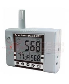 เครื่องวัดก๊าซ CO2 Meter พร้อม Alarm Output Relay, Accuracy ±30ppm รุ่น 77232