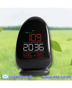 เครื่องวัดฝุ่น PM2.5 อุณหภูมิ/ความชื้น/นาฬิกา Air Quality Monitor รุ่น A8