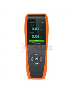 เครื่องวัดฝุ่น PM2.5/PM10/HCHO/TVOC/AQI/อุณหภูมิ/ความชื้น รุ่น Temtop LKC-1000S+