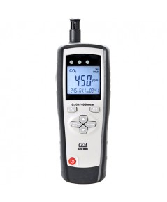 4 in 1 Multifunction GAS Meter เครื่องวัดแก๊ส O2, CO, CO2 temperature and humidity รุ่น GD-3803