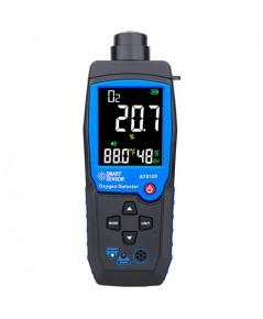 เครื่องวัดออกซิเจน/อุณหภูมิ/ความชื้น Smart Sensor Oxygen Meter O2 Gas Detector รุ่น AT8100