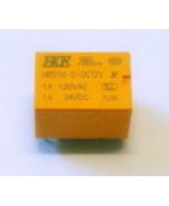 10004 รีเลย์ 12V 6 ขา ของ HKE ขนาดเล็ก 1x1.5x1.2cm