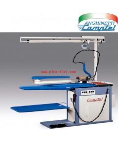 โต๊ะรีดผ้าลมดูดพร้อมหม้อต้มเตารีด รุ่นDE LUXE 20B
