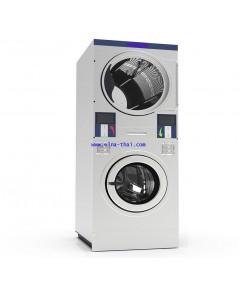 เครื่องซักผ้าหยอดเหริยญ2ชั้น20kg