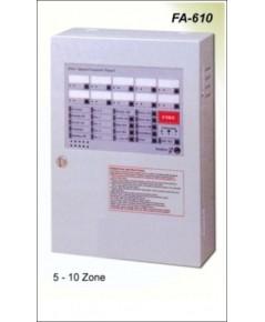 10 Zone Fire Alarm Control Panel  รุ่น FA-610 ยี่ห้อ Cemen มาตรฐาน CE