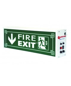 ป้ายกล่องไฟฉุกเฉิน รุ่น EXIT B1(หนึ่งหน้า) และ EXIT B2(สองหน้า) ยี่ห้อ Safeguard