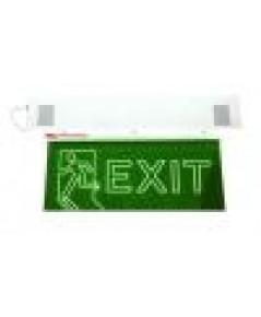 ป้ายไฟฉุกเฉินหลอดนีออน ชนิด Slimline รุ่น EXIT S1(หน้าเดียว)และ EXIT S2(สองหน้า) ยี่ห้อ Safeguard