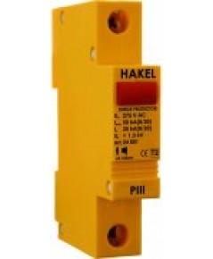 1-pole MOV surge arrester Class II (Discharge Current=50kA) รุ่น PIII-275 ยี่ห้อ Hakel
