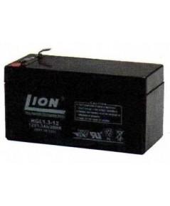 แบตเตอรี่แห้งชนิดตะกั่วกรด  ขนาด 12V-1.3Ah ยี่ห้อ Lion