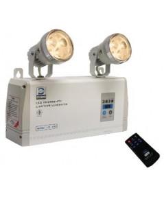 ไฟฉุกเฉินหลอด LED ขนาด 9wx2 สำรองไฟ 2 ชม. แบตเตอรี่ 6V-4.5Ah รุ่น LD-100 ยี่ห้อ Dyno