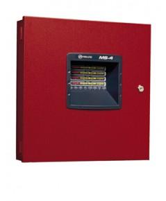 4-Zone, Fire Alarm Control Panel,24VDC, 220VAC.,Model MS-4E, Fire-Lite