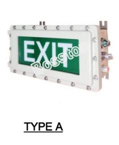 ป้ายไฟทางออก Exit Light LED รุ่น EXIT20102 (Type A) ยี่ห้อ Bosston