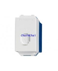 เต้ารับโทรศัพท์ 6P4C (โมดูล่า)WEG2164  Panasonic  Wide-Series