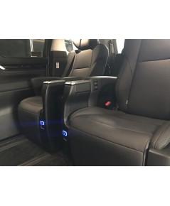 ชุดปลั๊กไฟชาร์จโทรศัพท์ ข้างเบาะมิกกี้เมาส์ แบบ USB 6.4 High Speed Charge
