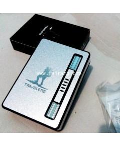 กล่องบุหรี่มีแบบออโต้มีไฟแช็คในตัว บรรจุได้ 10 มวน ขนาดเล็ก 12 มวน