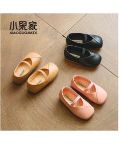 รองเท้าคัชชูเด็ก พื้นแบน แฟชั่นเด็กเกาหลี งานนำเข้า