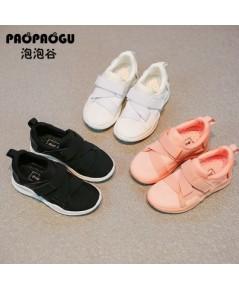 รองเท้าผ้าใบเด็ก รองเท้าผ้าใบแนวสปอร์ตเด็กผู้ชาย แฟชั่นเกาหลี งานนำเข้า
