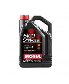 MOTUL 6100 SYN-CLEAN 5W-40 ขนาด 4 ลิตร