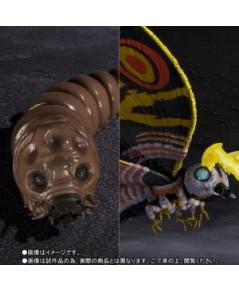 S.H.MonsterArts Mothra (Adult)  Mothra (Larvae) Special Color Ver. [P-Bandai]