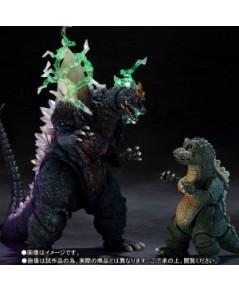 S.H.MonsterArts SpaceGodzilla  LittleGodzilla Special Color Ver. [P-Bandai]