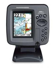 เครื่องหาปลา + GPS รุ่น Humminbird 386ci Combo