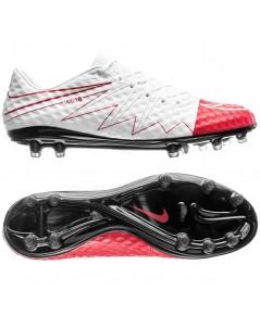 Nike Hypervenom Phinish FG WR250 - White/University Red LIMITED EDITION