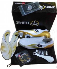 Lotto Zhero Gravity Tre - White/Gold