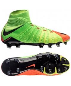 Nike Hypervenom Phantom 3 DF FG Electric Green/Black/Hyper Orange