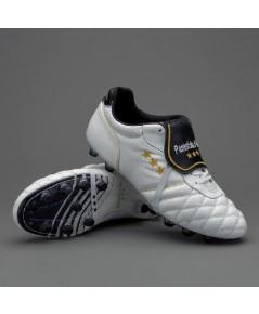 Pantofola D\'Oro Sirio Emidio Italy Vitello FG Boots - White/Black