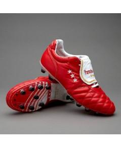Pantofola D\'Oro Sirio Emidio Italia Vitello FG Red/White/Gold