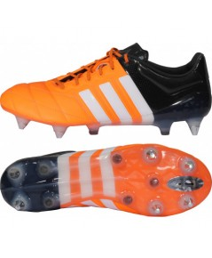 adidas ACE 15.1 Leather SG PROMO Solar Orange/Running White/Core Black