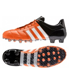 adidas ACE 15.1 Leather FG Solar Orange/Running White/Core Black
