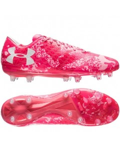 Under Armour ClutchFit Force 3.0 FG Power in Pink - Pink LIMITED EDITION