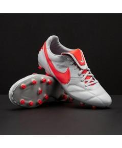 Nike Premier 2.0 FG - Grey/Crimson