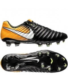 Nike Tiempo Legend 7 FG Lock in. Let loose. - Black/White/Laser Orange