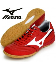 Mizuno Morelia INDOOR Red/White