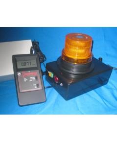 เครื่องวัดรังสีแบบเตือนด้วยแสง Radiation  Inspector Alert with Lighting Alarm