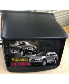 Alpha coustic  จอ Android ตรงรุ่นรถ Mitsubishi Triton และ Pajero (Ram 2 GB / Rom 16 / 4 Core )