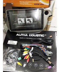 Alpha coustic  จอ Android ตรงรุ่นรถ Honda FIT/JAZZ 2009-2013