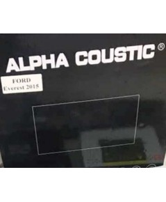 Alpha coustic จอAndroid ตรงรุ่นรถ Ford Everest 2015