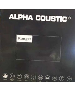 Alpha coustic  จอตรงรุ่นรถ Ford Ranger (Ram 2 GB / Rom 16 / 4 Core )