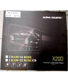 Alpha Coustic  X20D (Android  มี3รุ่น 4-8 CORE )